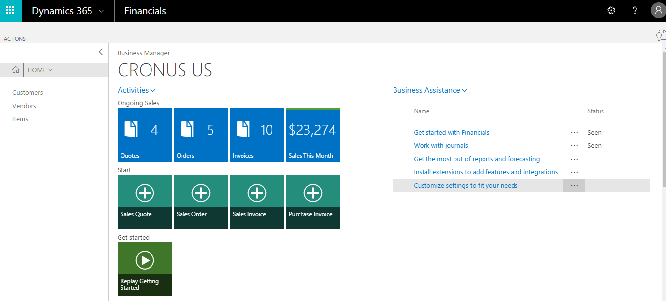Microsoft Dynamics 365 apps - Implementing Microsoft