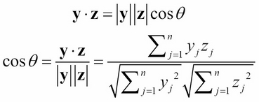 Cosine similarity - Java Data Analysis