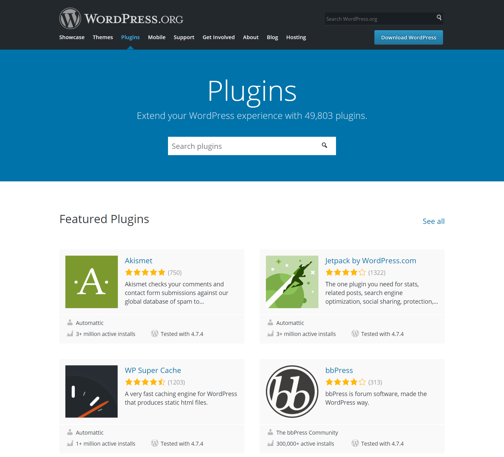 Where to get plugins - WordPress Complete - Sixth Edition