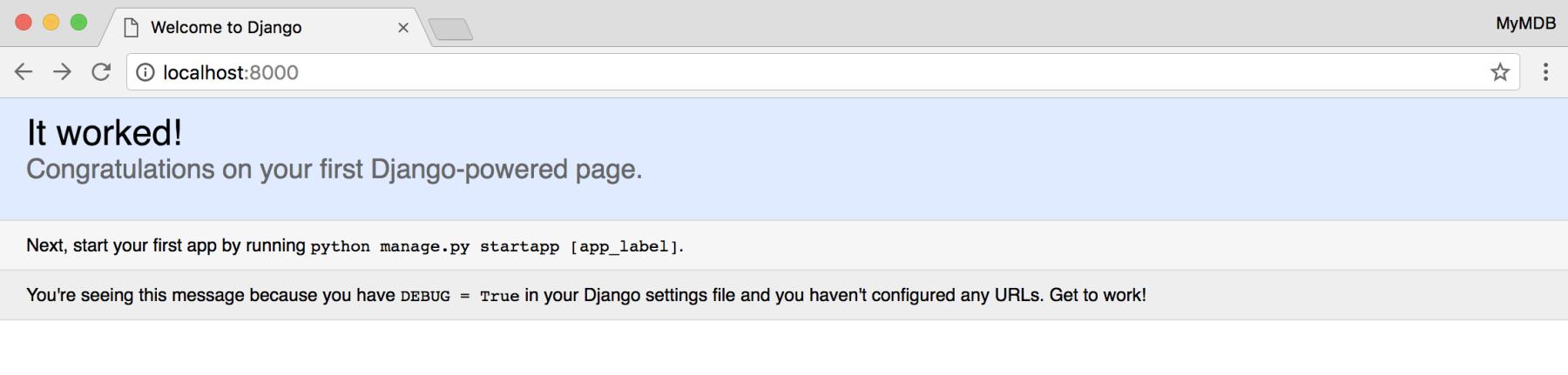 The core app - Building Django 2 0 Web Applications
