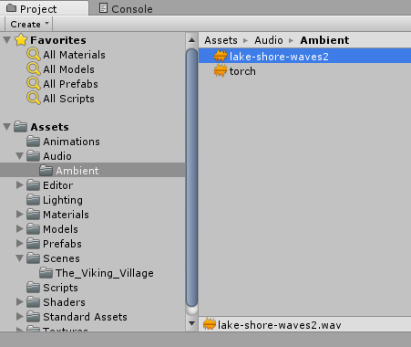 Importing audio into unity - Game Audio Development with