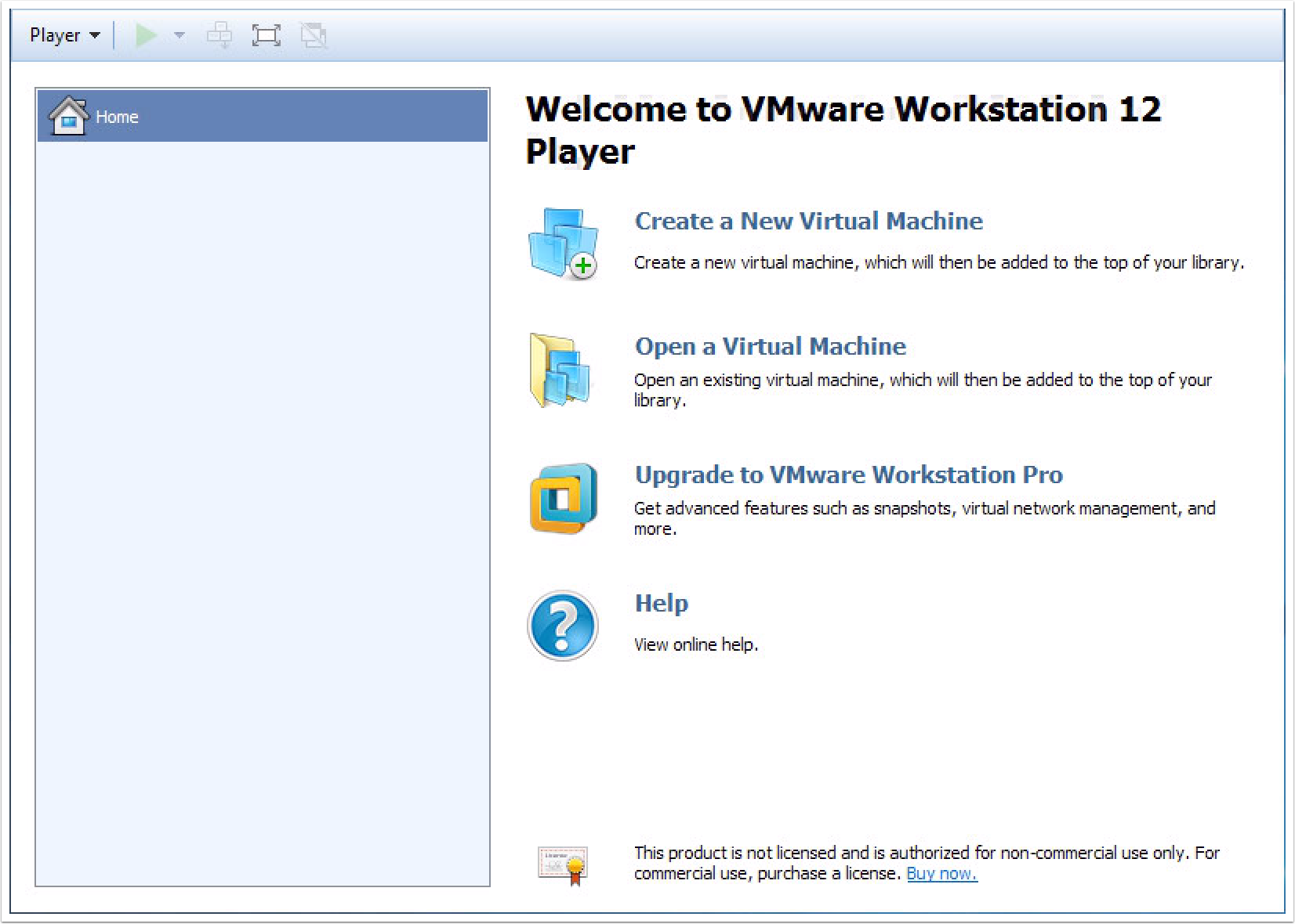 Configuring a security lab with VMware Player (Windows