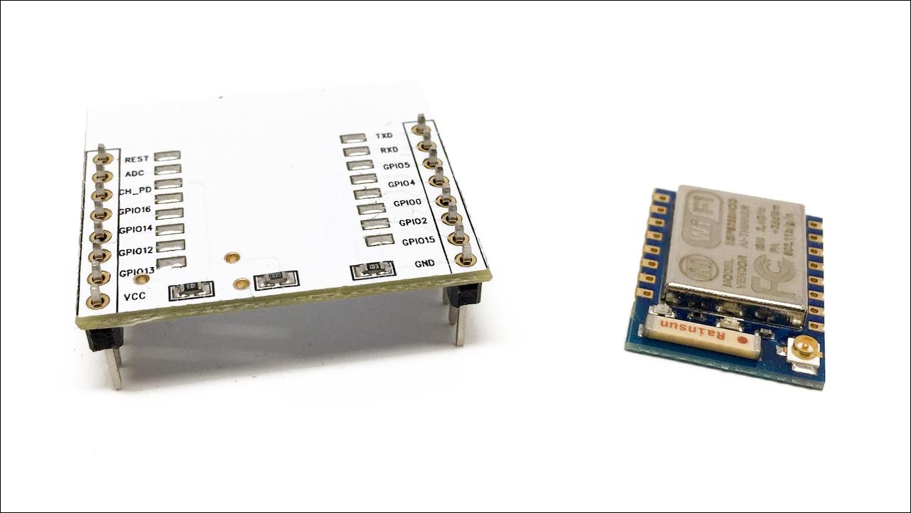 Choosing an ESP8266 board - ESP8266 Internet of Things Cookbook