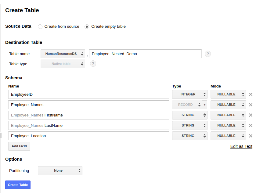 Querying nested and repeated records - Learning Google BigQuery