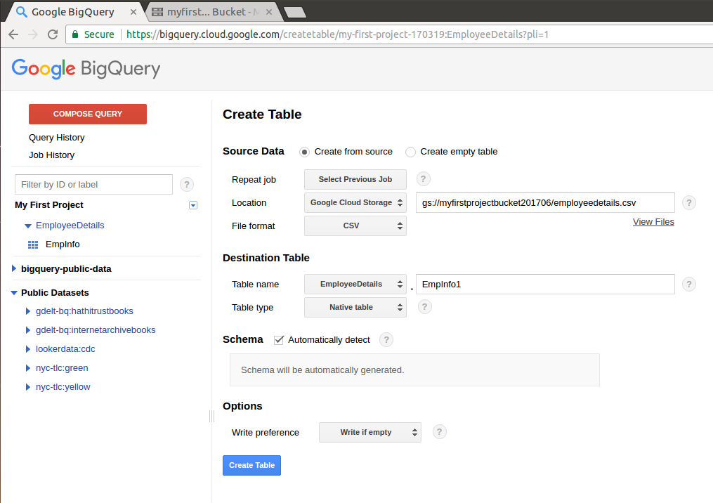 Getting started with Google Cloud - Learning Google BigQuery
