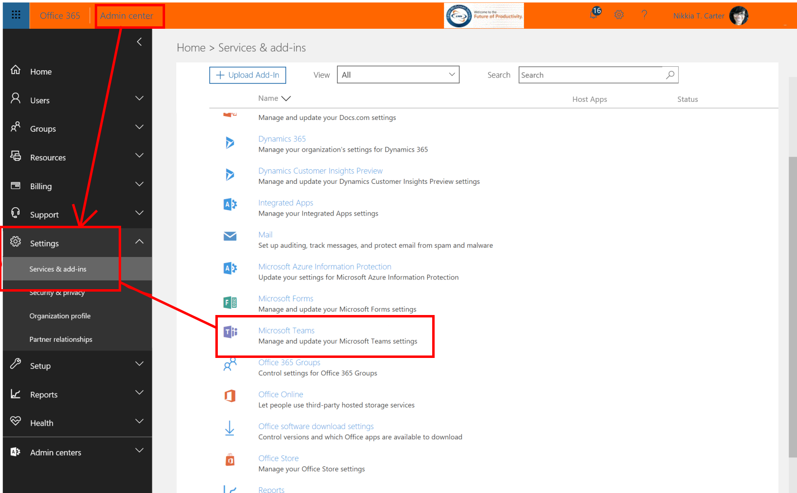 Administering Office 365 Groups via Office 365 Groups