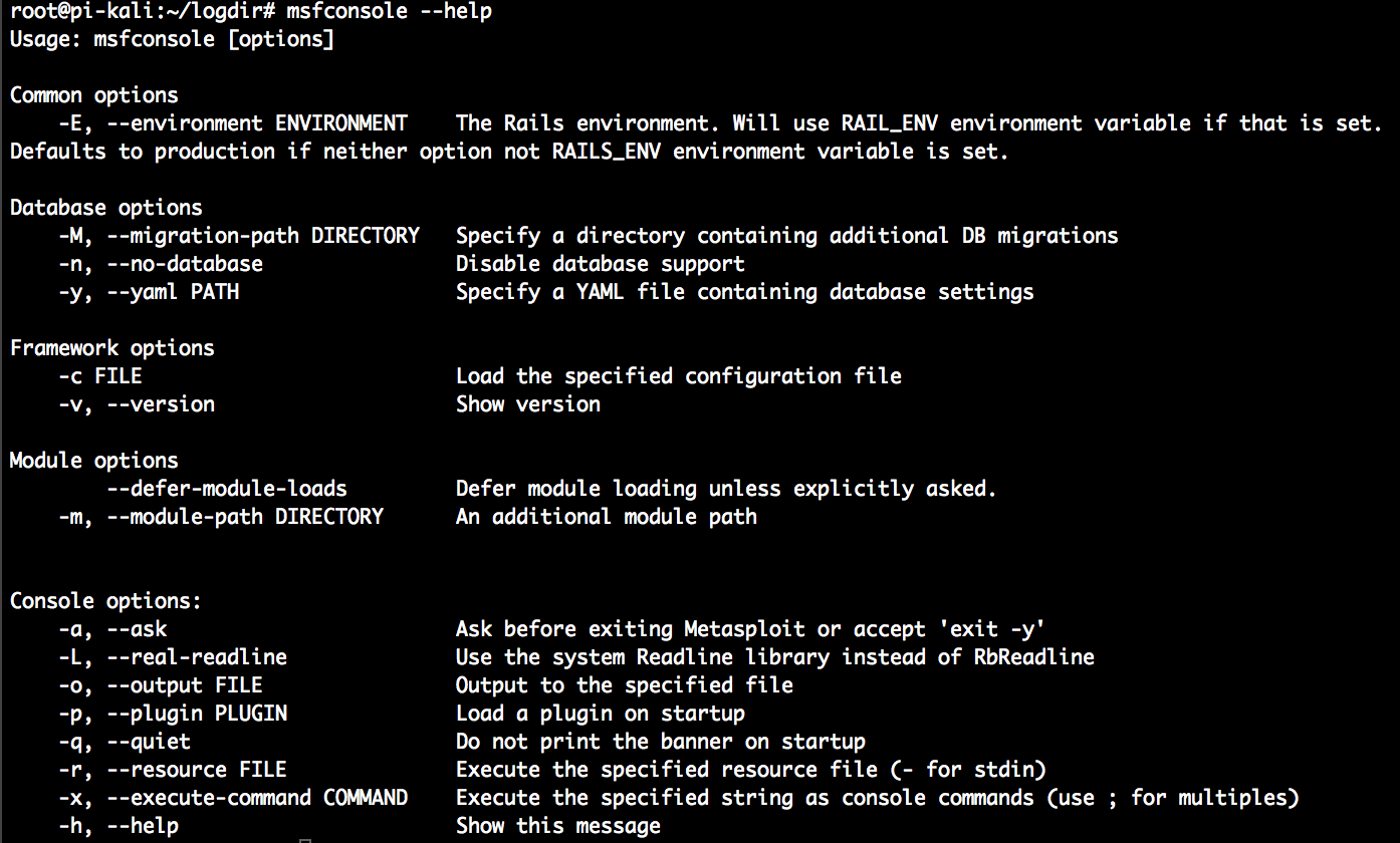 Exploiting our targets with Metasploit - Penetration Testing