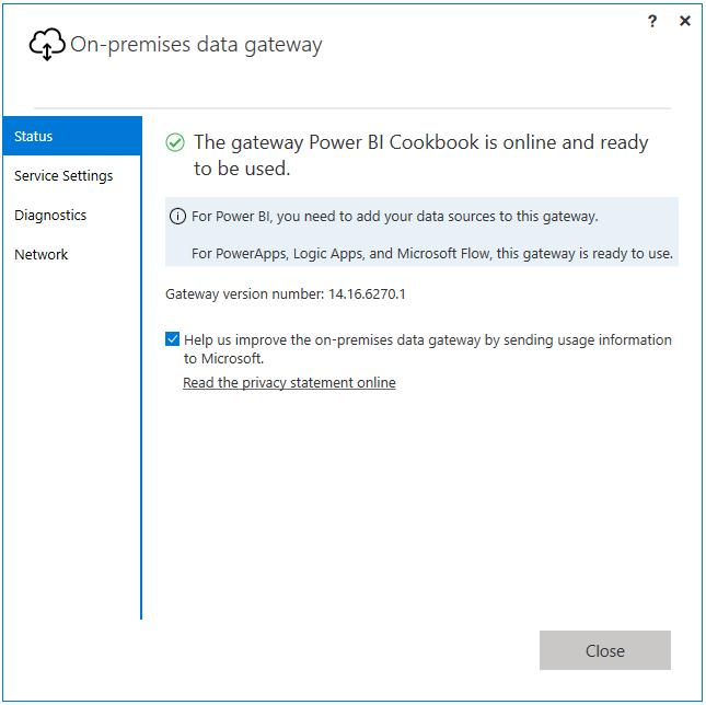 Installing the On-Premises Data Gateway - Microsoft Power BI
