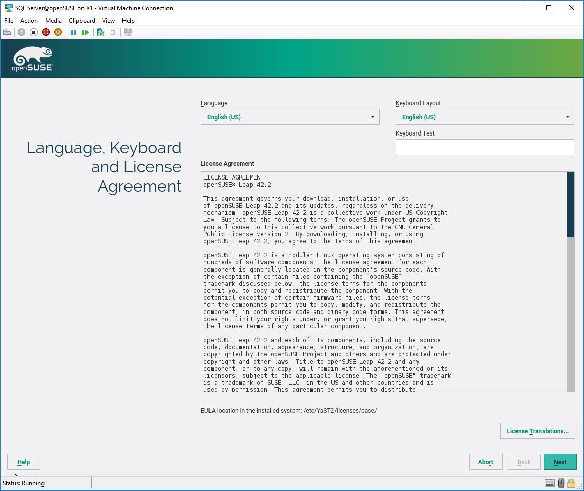 Installation procedure - SQL Server on Linux