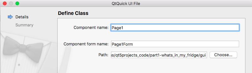 Building a visual prototype - Qt 5 Projects