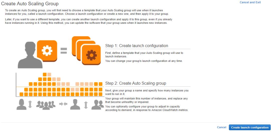 Auto Scaling groups - Amazon Web Services Bootcamp