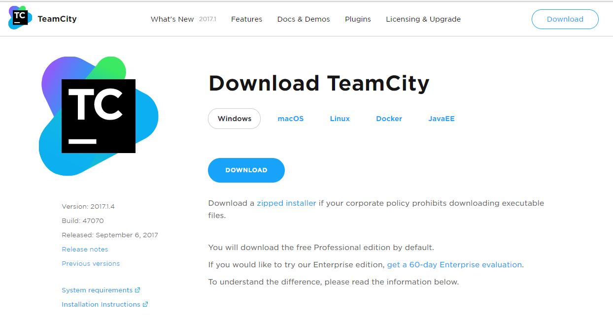 Installing and configuring TeamCity - Mobile DevOps