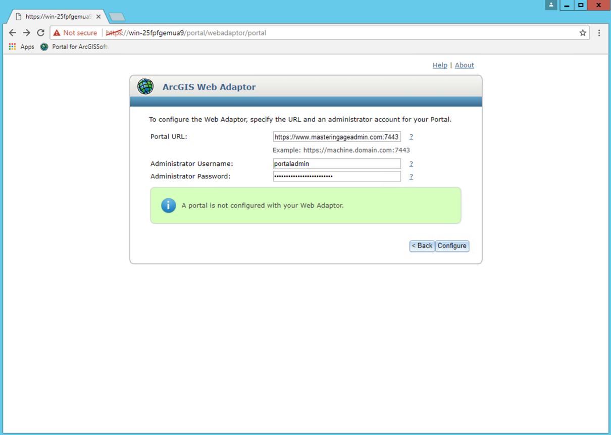 Installing Portal for ArcGIS - Mastering ArcGIS Enterprise