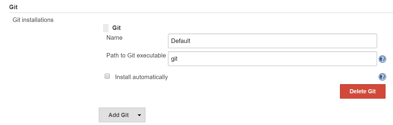 Configuring Git in Jenkins - Jenkins 2 x Continuous Integration