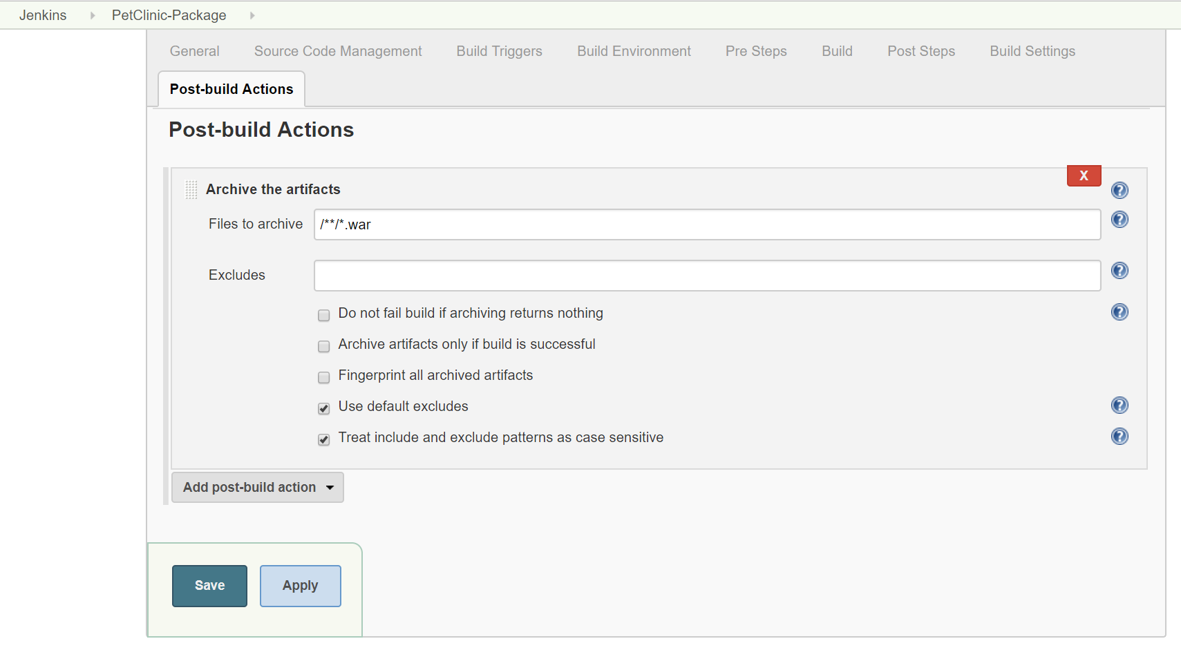 Archiving artifacts - Jenkins 2 x Continuous Integration