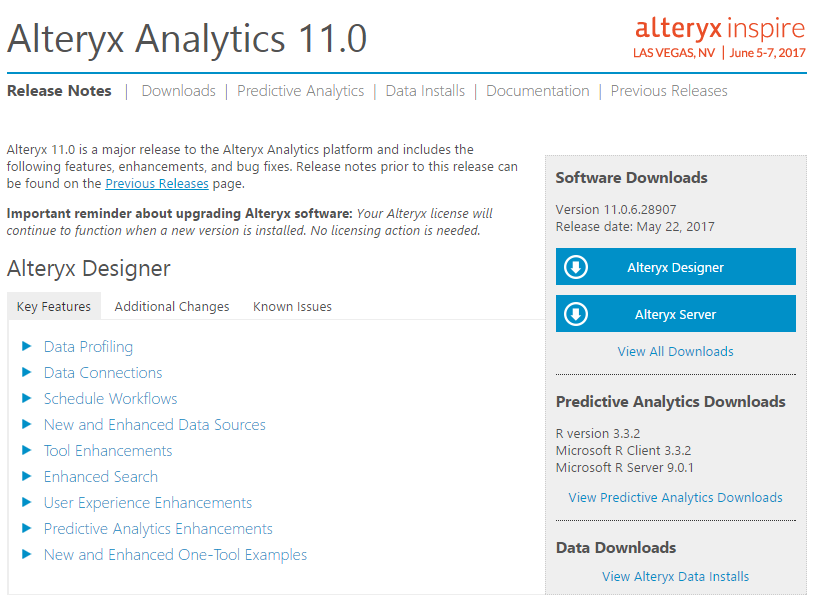 Installation and setup - Learning Alteryx