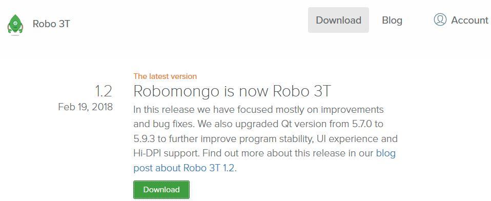 Installing MongoDB and Robomongo for Windows - Advanced Node