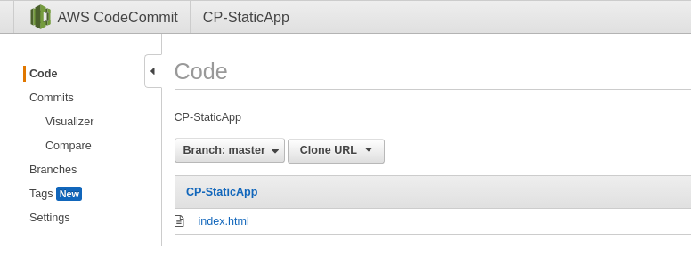 Continuous Deployment of static application to AWS S3 using