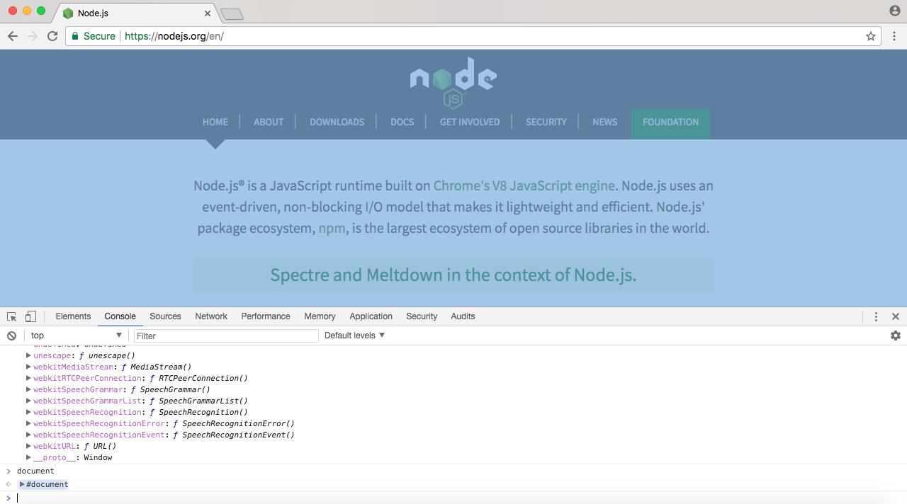 What is Node? - Learning Node js Development