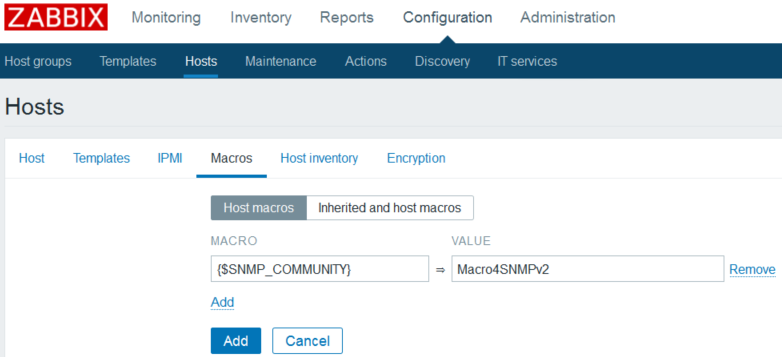 Adding an SNMP device in Zabbix - Mastering Proxmox - Third