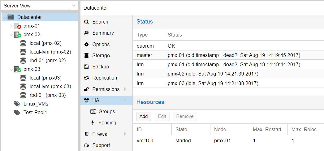 Testing Proxmox HA configuration - Mastering Proxmox - Third Edition