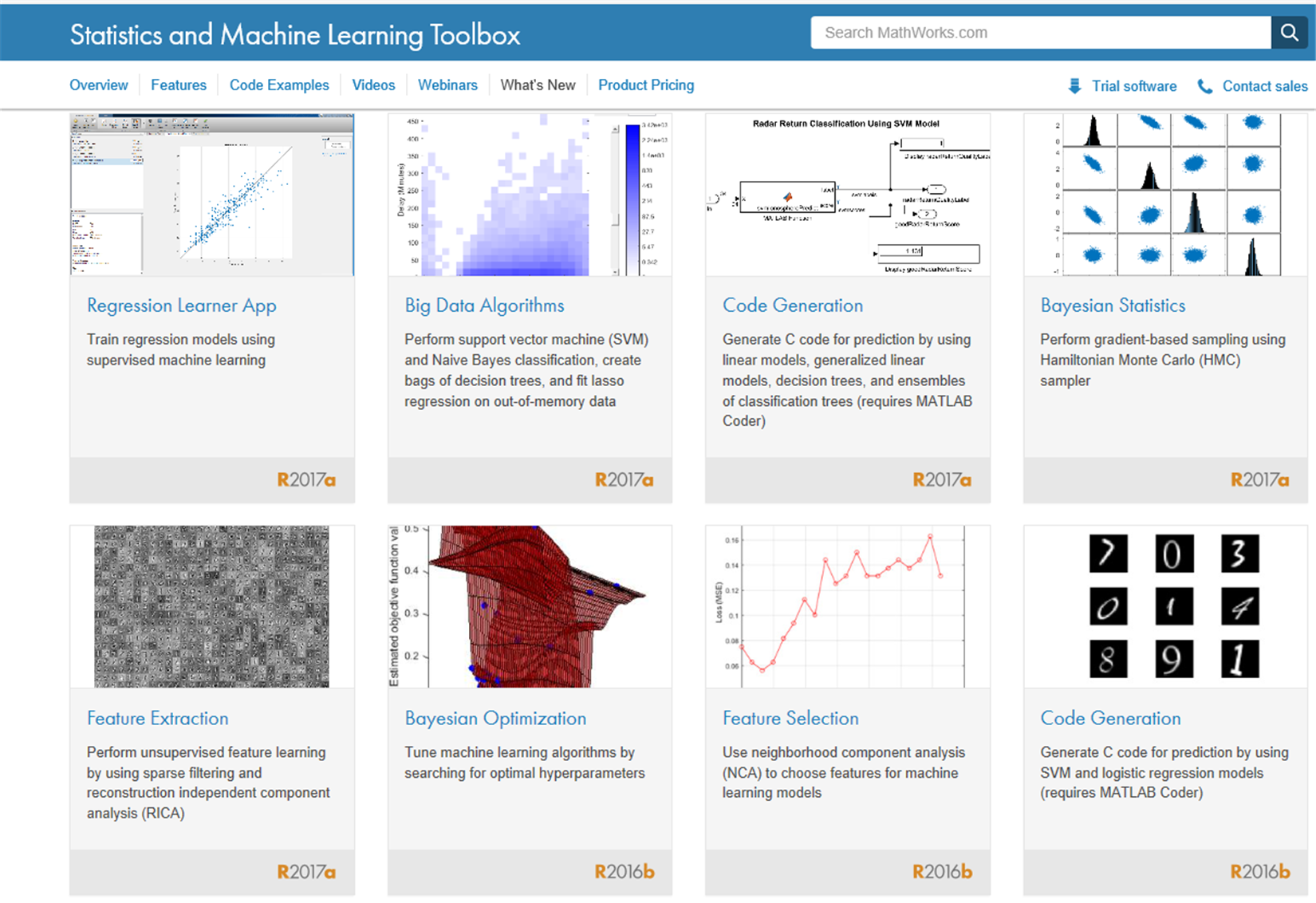 Statistics and Machine Learning Toolbox - MATLAB for Machine Learning