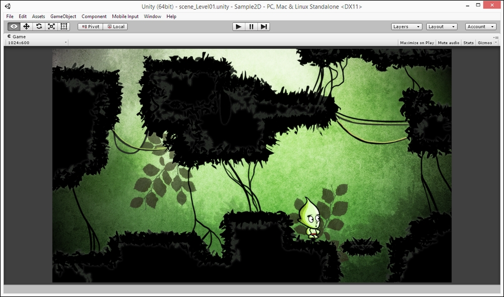 A 2D Adventure – getting started - Unity 2018 By Example