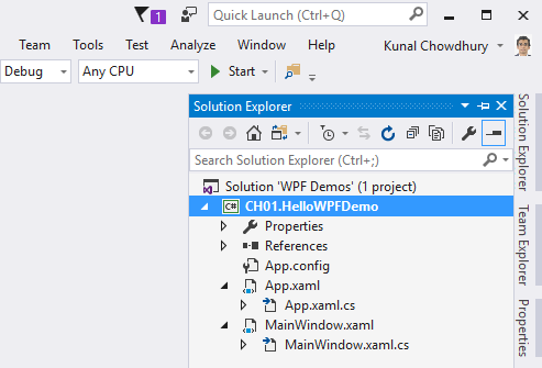 Creating WPF applications - Windows Presentation Foundation
