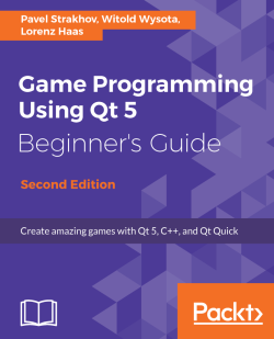 Creating a custom widget - Game Programming using Qt 5 Beginner's