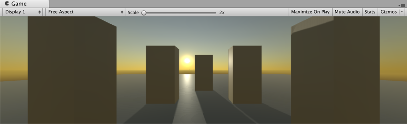 Setting up an environment with Procedural Skybox and Directional