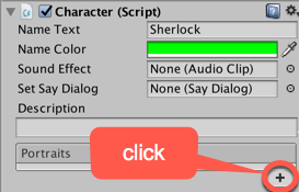 Creating a Fungus character dialog with images - Unity 2018 Cookbook