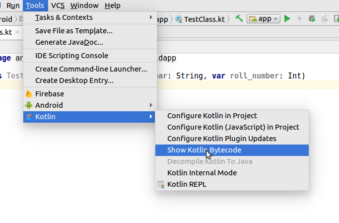 Converting Java code to Kotlin and vice versa - Kotlin