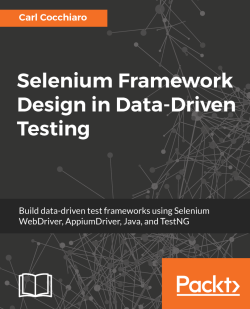 Selenium Framework Design in Data-Driven Testing