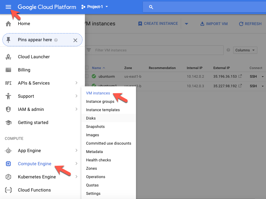 Installing and configuring Ubuntu Desktop for Google Cloud Platform