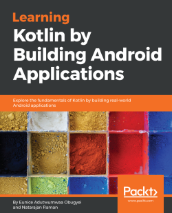 Learning Kotlin by building Android Applications