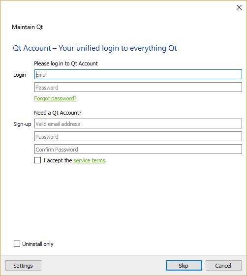 Installing Qt - Learn QT 5