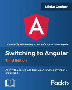 Two-way data binding with Angular - Switching to Angular - Third Edition