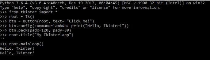Structuring a Tkinter application - Tkinter GUI Application
