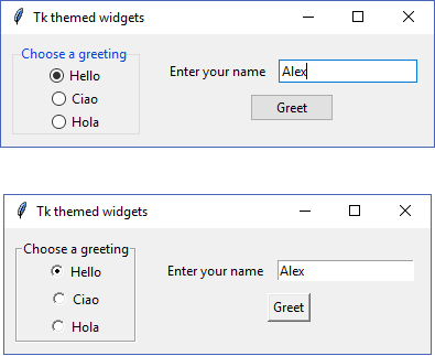 Replacing basic widget classes - Tkinter GUI Application
