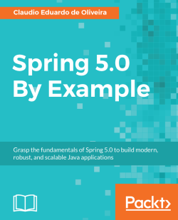 Creating the CMS application structure - Spring 5 0 By Example