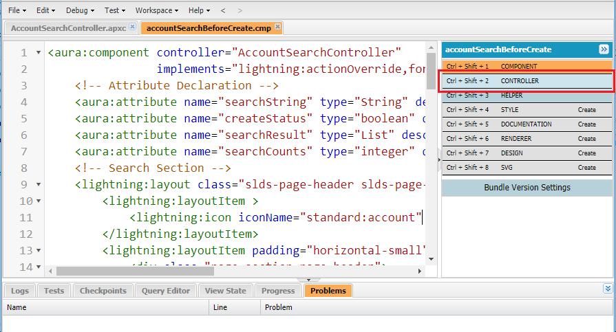 Scripting a Lightning JavaScript Controller - Salesforce CRM