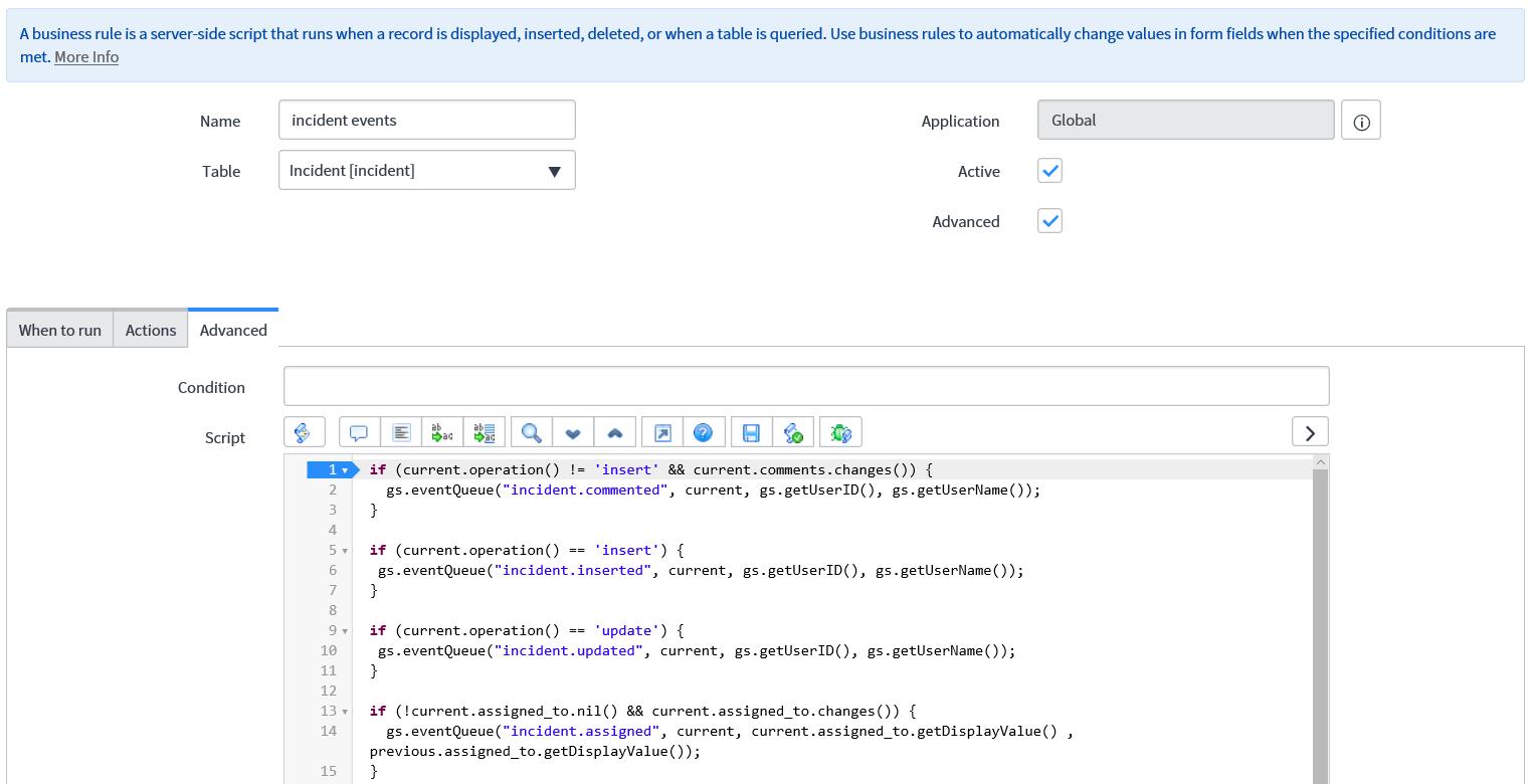 The script debugger - Mastering ServiceNow Scripting