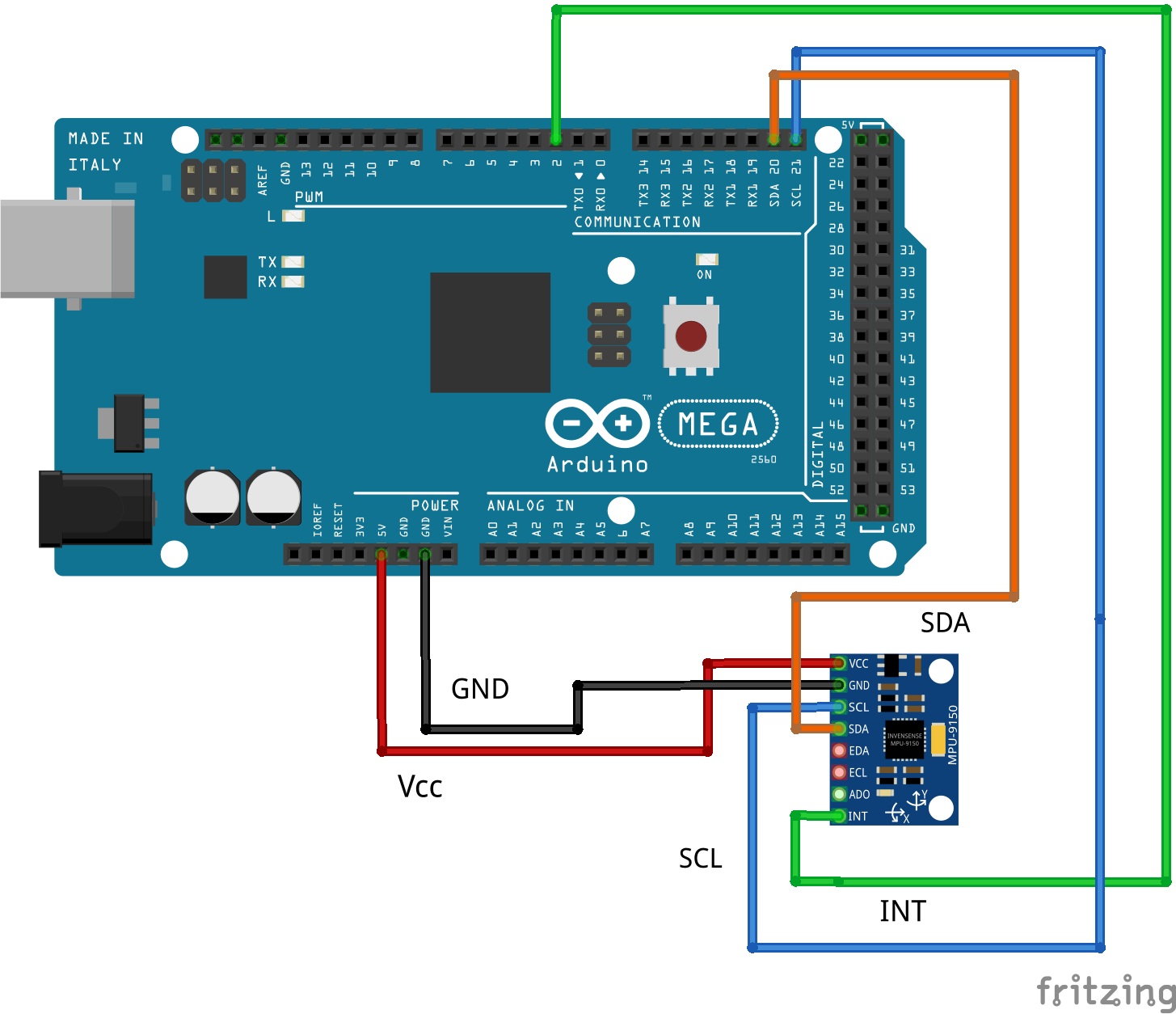 Interfacing the MPU-9250 with the Arduino and ROS - ROS Programming