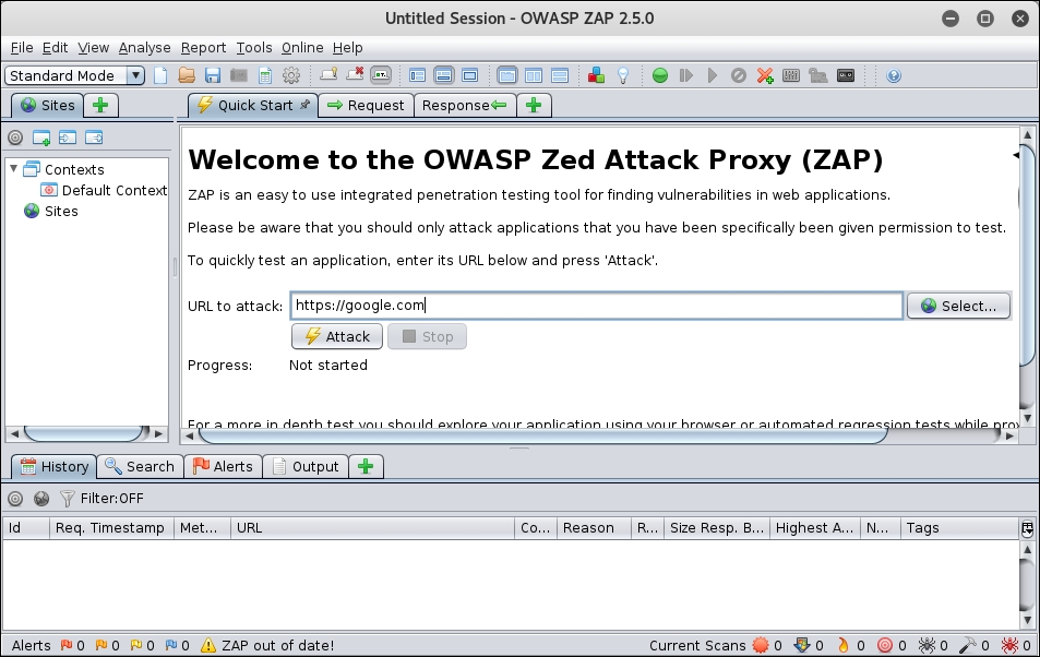 The attack proxy - Becoming the Hacker