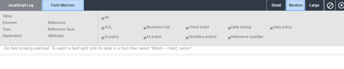 Working with Field Watcher - ServiceNow: Building Powerful