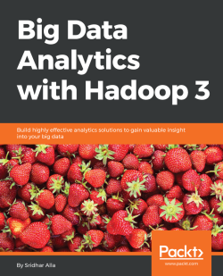 Big Data Analytics with Hadoop 3