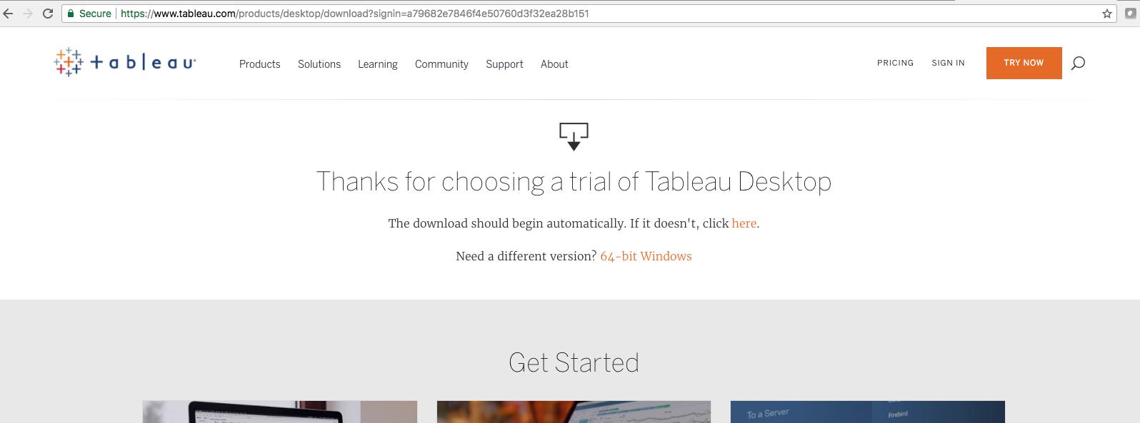Tableau - Big Data Analytics with Hadoop 3