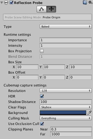 Implementing reflection probes - Getting Started with Unity