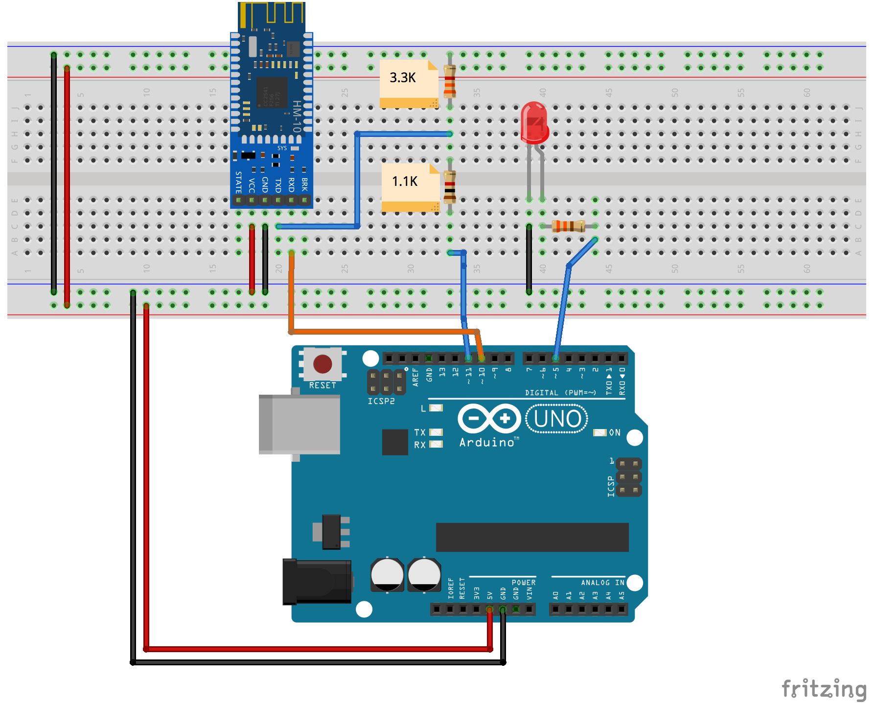 Project 2 – controlling LED - Mastering Arduino