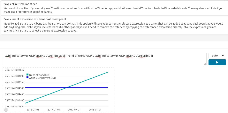 Saving Timelion graph - Mastering Kibana 6 x